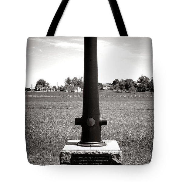 Gettysburg National Park Army Of The Potomac Headquarters Monument Tote Bag