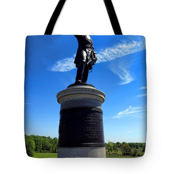Gettysburg National Park James Samuel Wadsworth Memorial Tote Bag