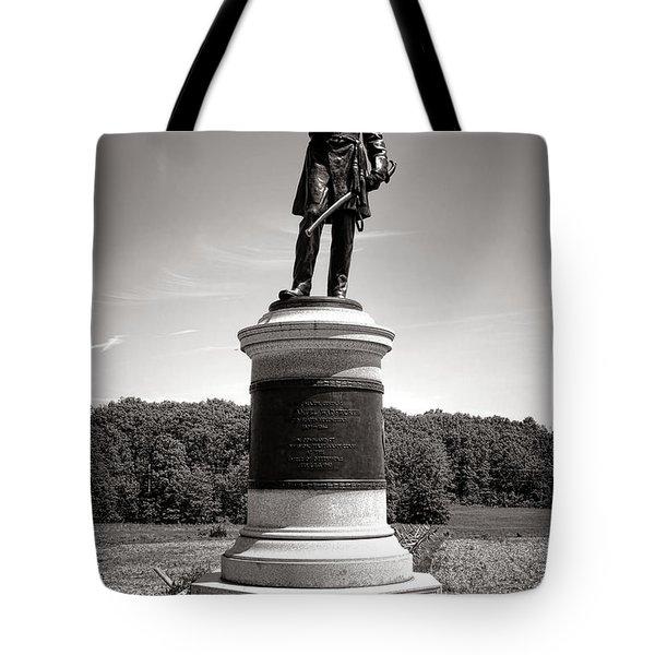 Gettysburg National Park James Samuel Wadsworth Monument Tote Bag