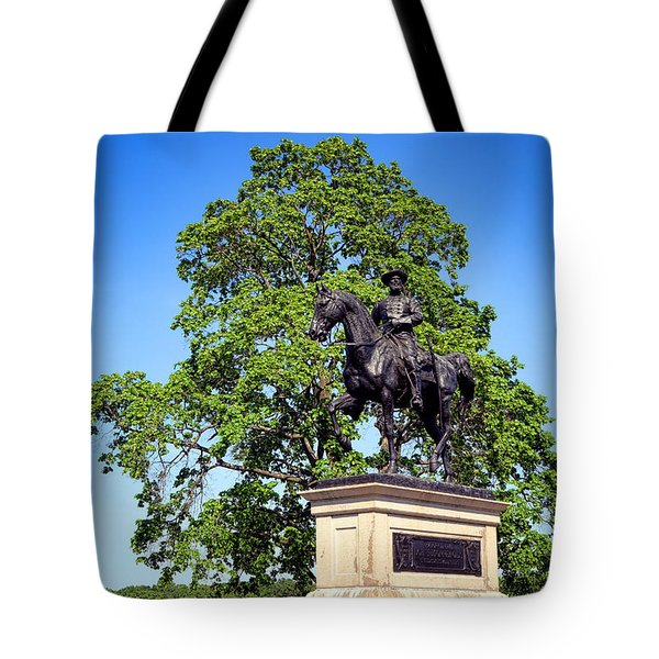 Gettysburg National Park John Fulton Reynolds Memorial Tote Bag
