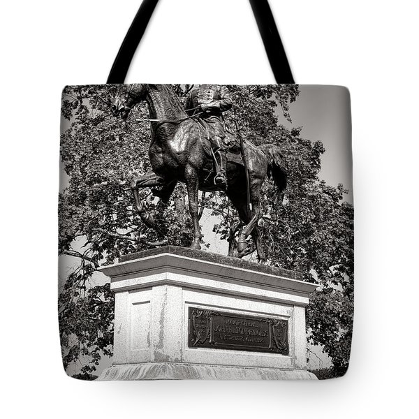 Gettysburg National Park John Fulton Reynolds Monument Tote Bag