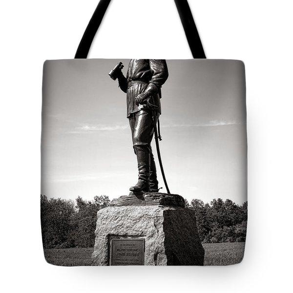 Gettysburg National Park Major General John Buford Monument Tote Bag