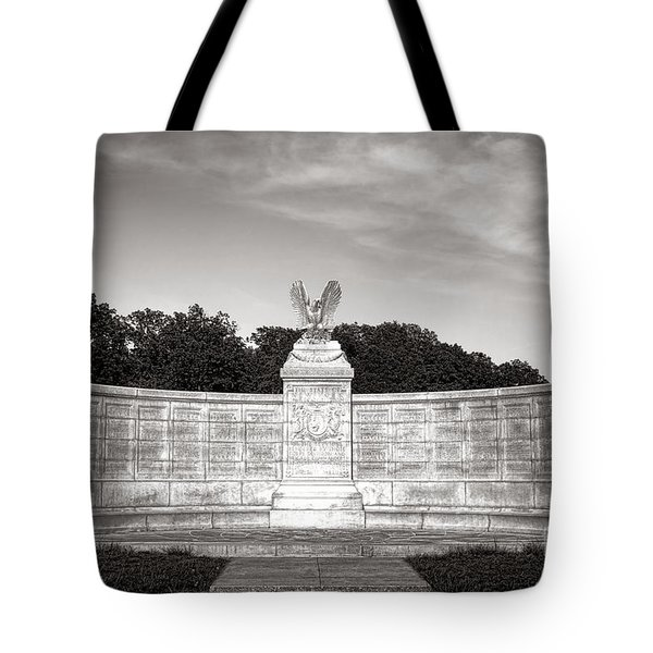 Gettysburg National Park New York Auxiliary Monument Tote Bag