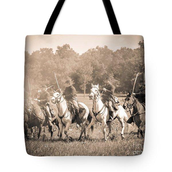 Gettysburg  Union Cavalry 7901s  Tote Bag