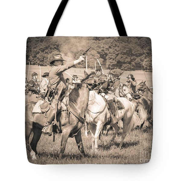 Gettysburg  Union Cavalry 7920s  Tote Bag