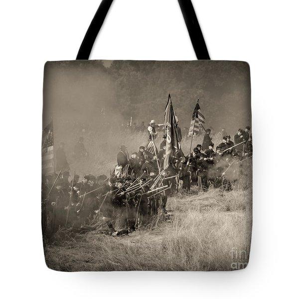 Gettysburg Union Infantry 8947s Tote Bag