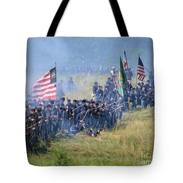 Gettysburg Union Infantry 8948c Tote Bag