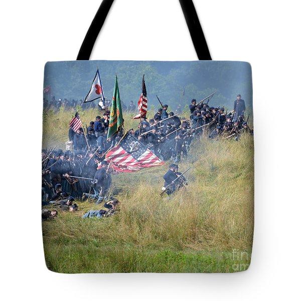 Gettysburg Union Infantry 8963c Tote Bag