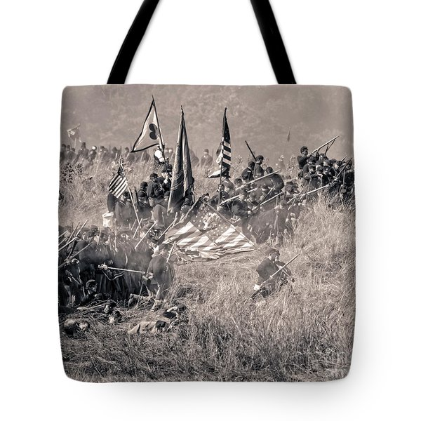 Gettysburg Union Infantry 8963s Tote Bag