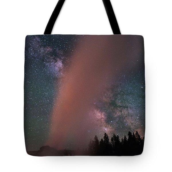 Geyser X Tote Bag