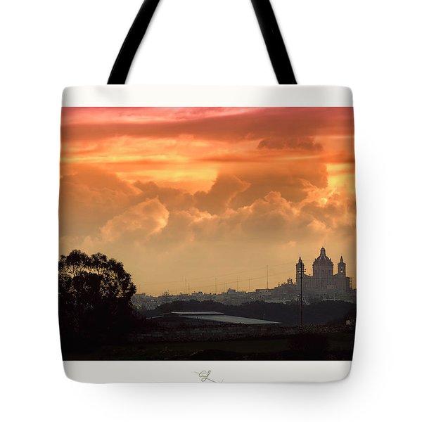 Ghaxaq Sebh - Delightful Sunrise Tote Bag