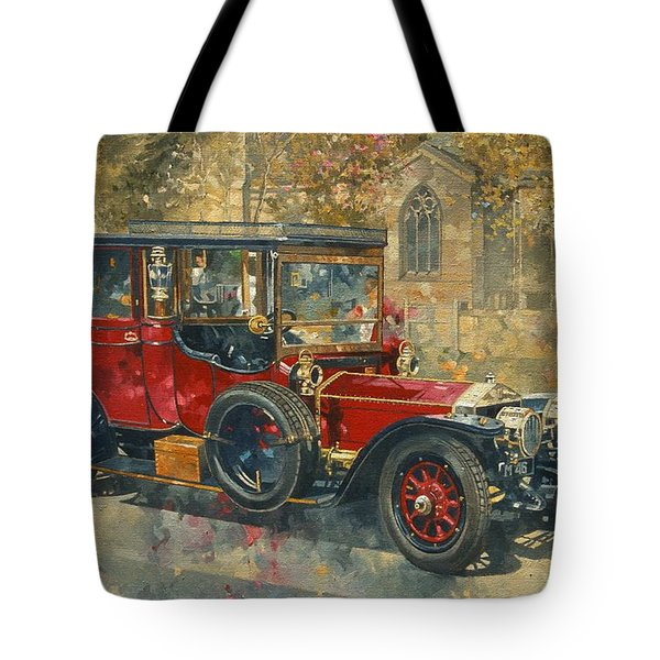 Ghost - Hawton Tote Bag by Peter Miller