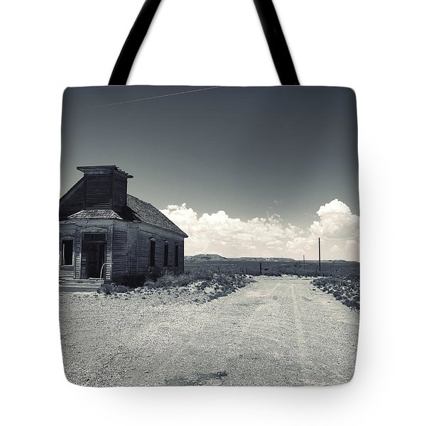 Ghost Church Tote Bag
