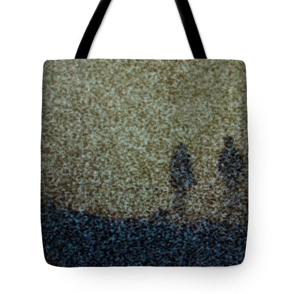 Ghost Couple Tote Bag