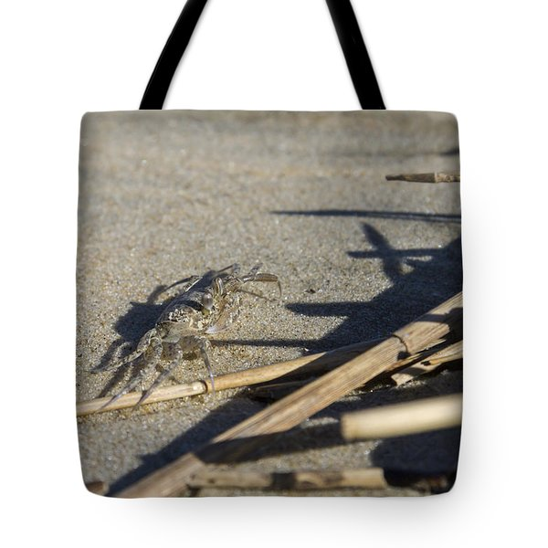 Ghost Crab Eyes The Debris Tote Bag