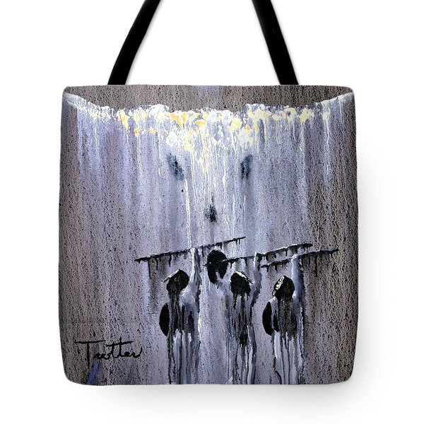 Ghost Dance Tote Bag by Patrick Trotter