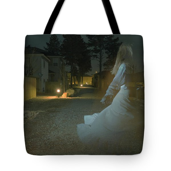 Ghost Dancer Tote Bag by Scott Sawyer