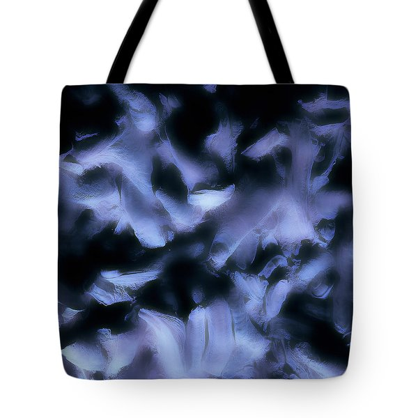 Tote Bag featuring the photograph Ghost Fingers by Menega Sabidussi