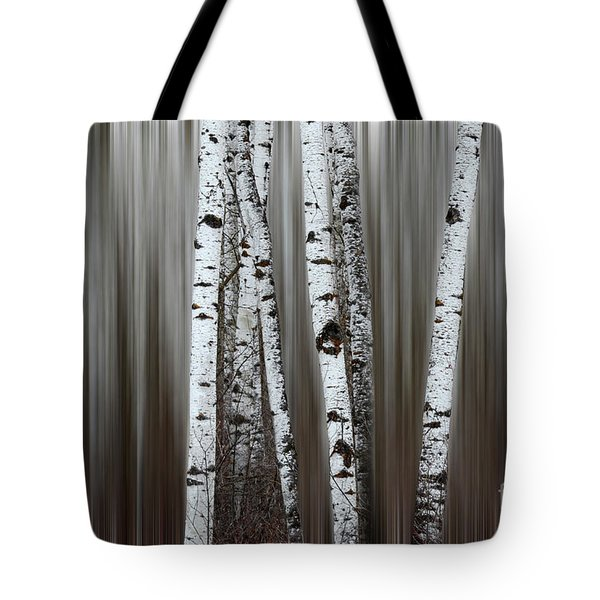 Ghost Forest 1 Tote Bag by Bob Christopher
