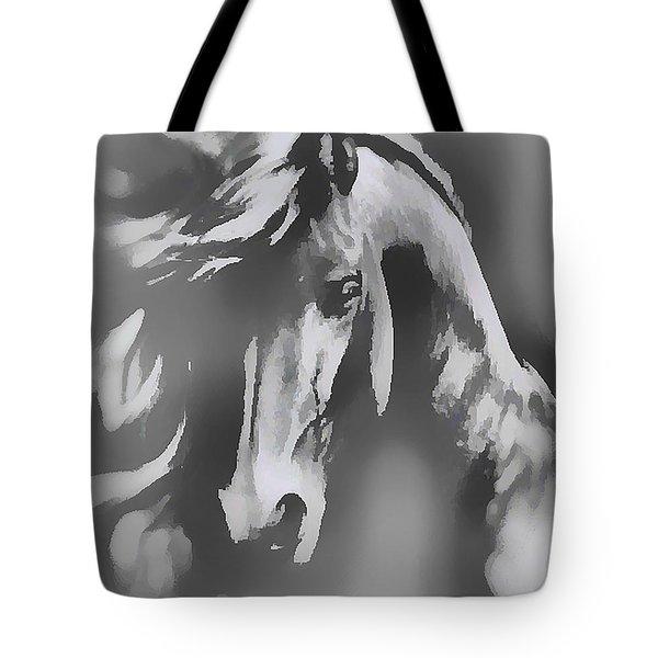 Ghost Horse Tote Bag