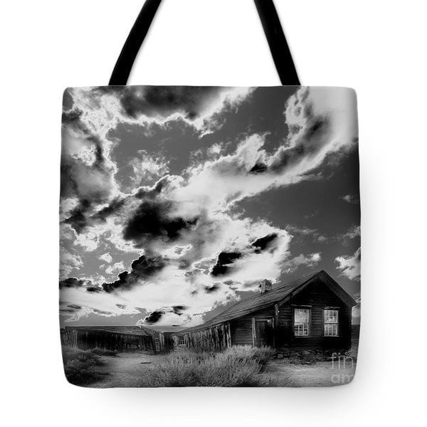 Tote Bag featuring the photograph Ghost House by Jim and Emily Bush