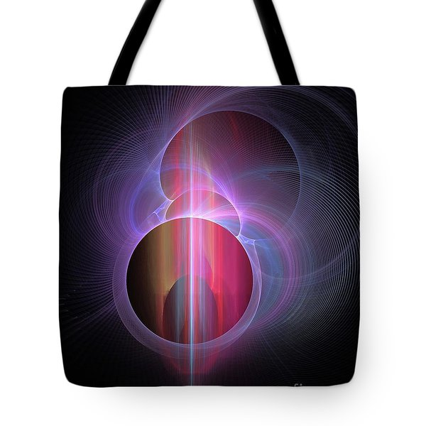 Ghost In The Machine Tote Bag by Elizabeth McTaggart
