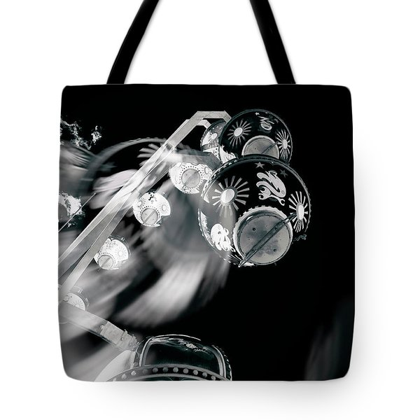 Tote Bag featuring the photograph Ghost In The Machine by Wayne Sherriff