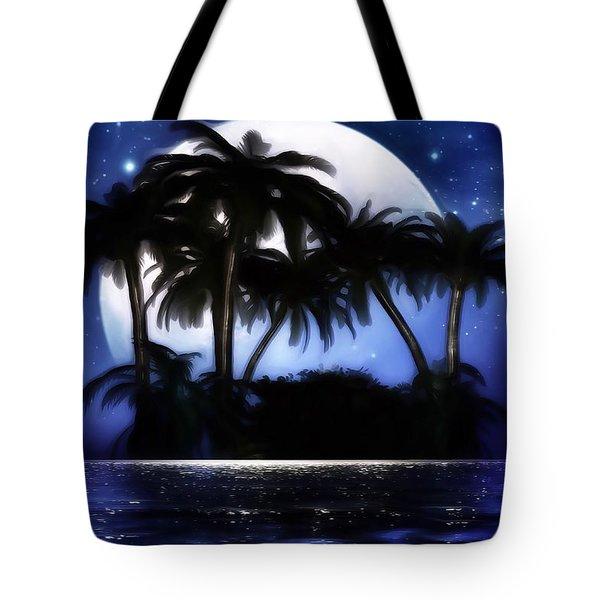 Shadow Island Tote Bag by Gabriella Weninger - David