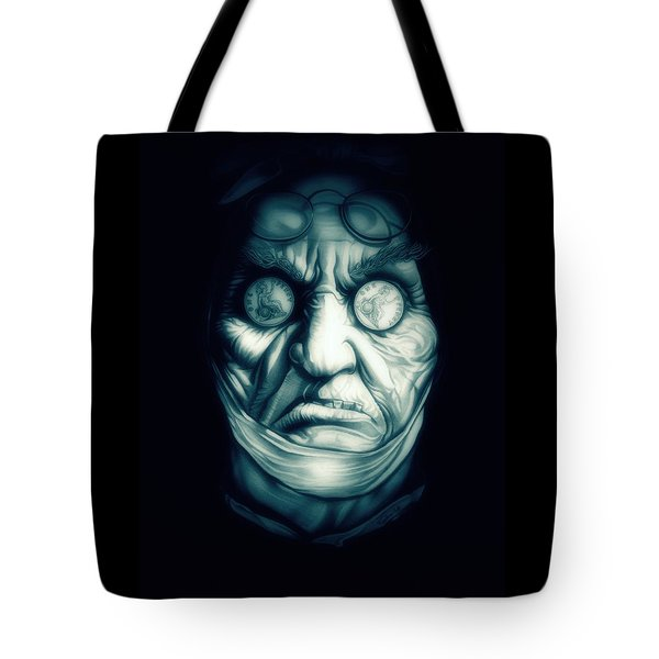 Ghost Marley Tote Bag by Fred Larucci