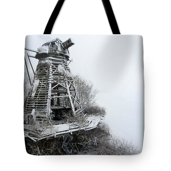 Ghost Mill Tote Bag by Robert Lacy