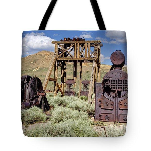 Ghost Mine Tote Bag
