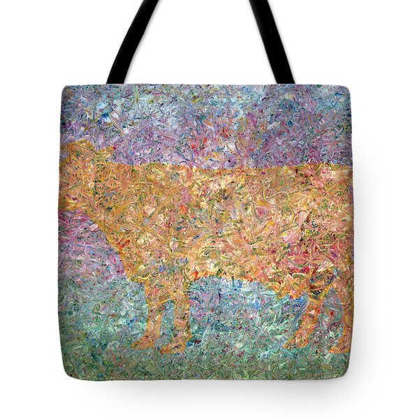 Ghost Of A Cow Tote Bag by James W Johnson