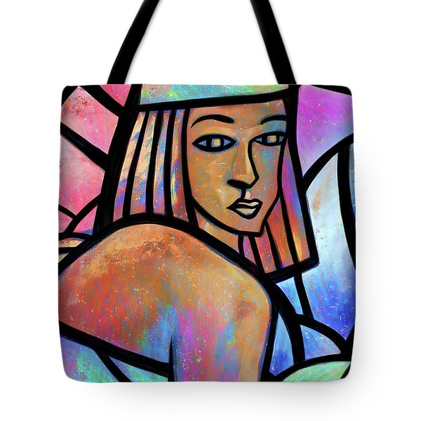 Ghost Of Happiness Tote Bag