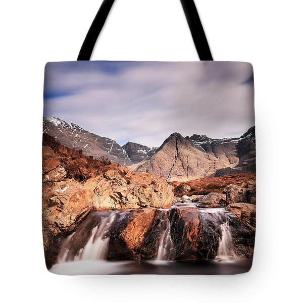 Ghost Of The Fairy Pools Tote Bag