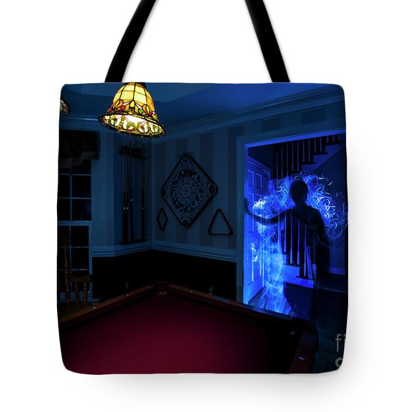 Ghost Of The Parlor Tote Bag