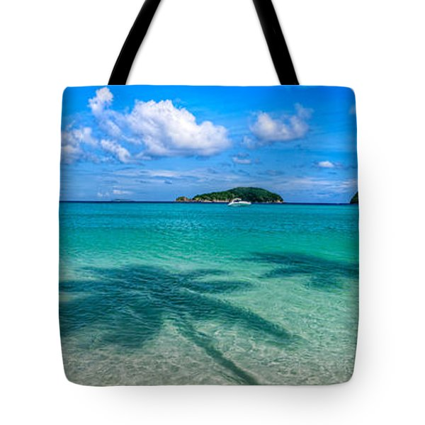 Ghost Palms Tote Bag