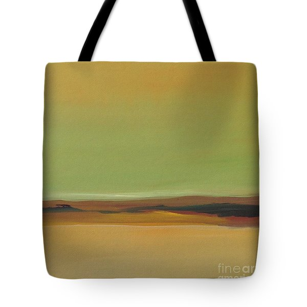 Tote Bag featuring the painting Ghost Ranch by Michelle Abrams