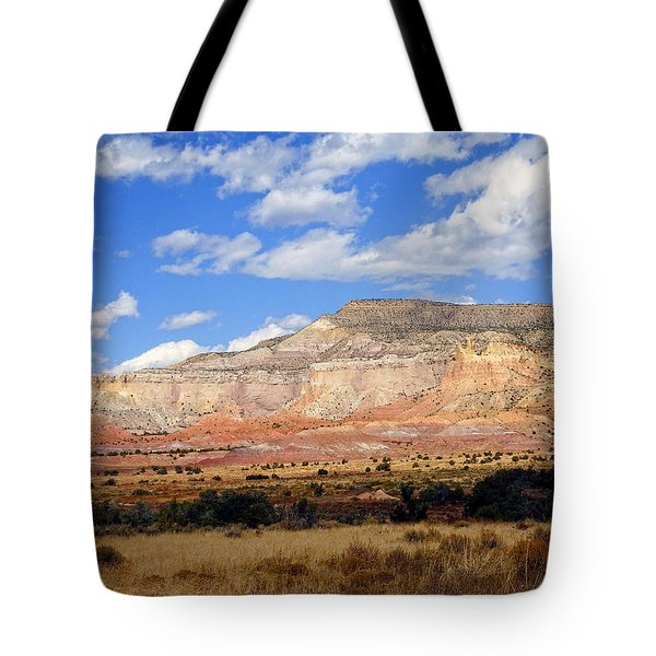 Tote Bag featuring the photograph Ghost Ranch New Mexico by Kurt Van Wagner