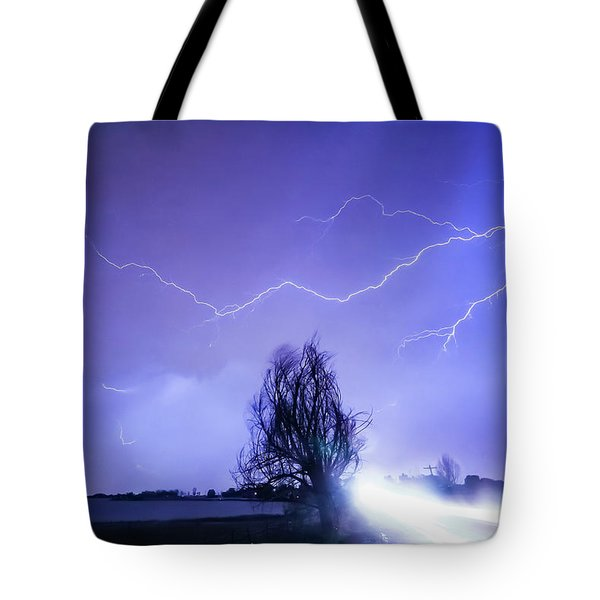 Tote Bag featuring the photograph Ghost Rider by James BO Insogna