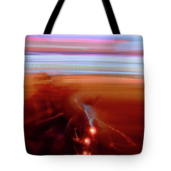 Ghost Rider Tote Bag by Venetta Archer