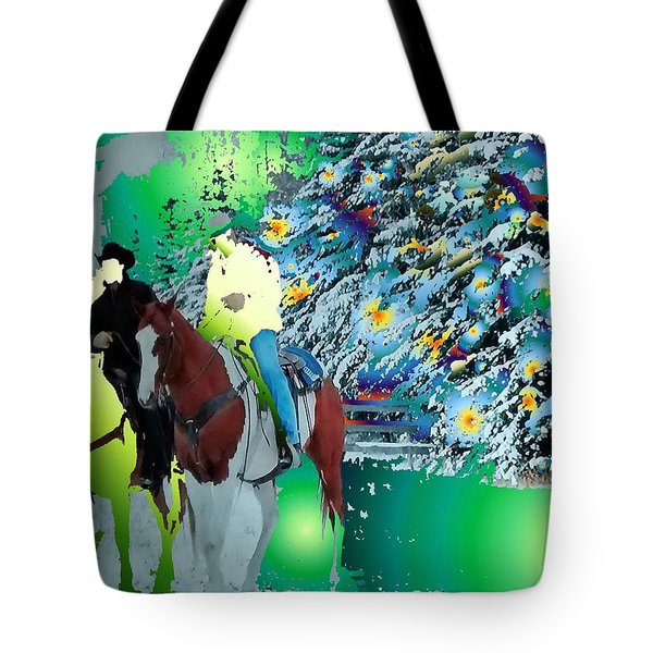 Ghost Riders Tote Bag