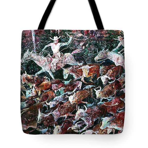 Ghost Riders II Tote Bag