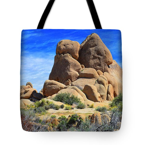 Tote Bag featuring the photograph Ghost Rock - Joshua Tree National Park by Glenn McCarthy Art and Photography
