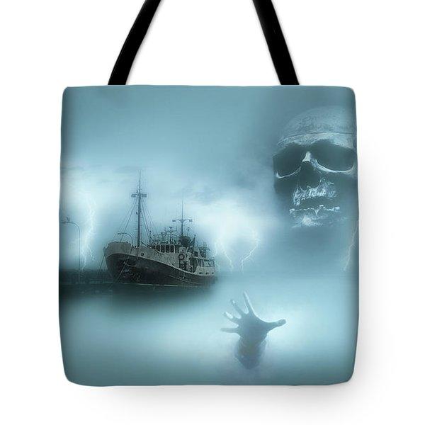 Ghost Ship 0002 Tote Bag