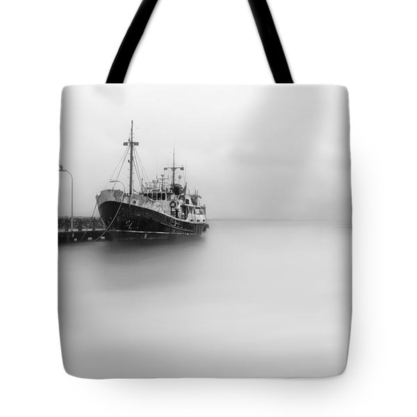 Tote Bag featuring the photograph Ghost Ship 01 by Kevin Chippindall
