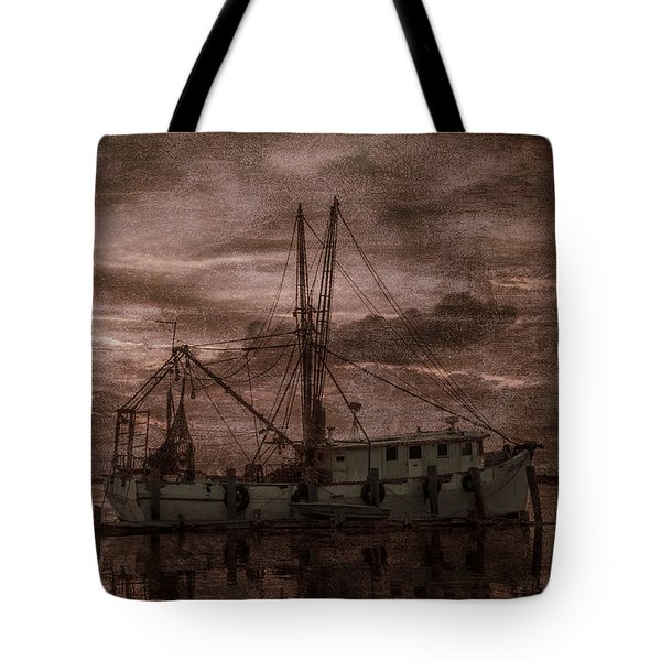 Ghost Ship Tote Bag