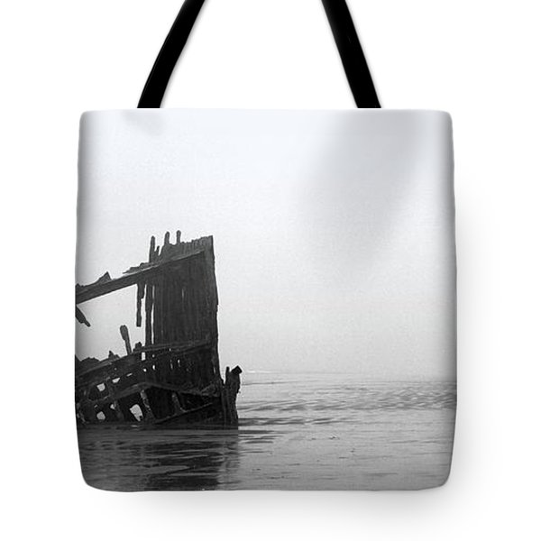 Ghost Ship Tote Bag by Joseph Skompski