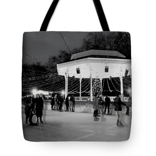 Ghost Skaters Tote Bag