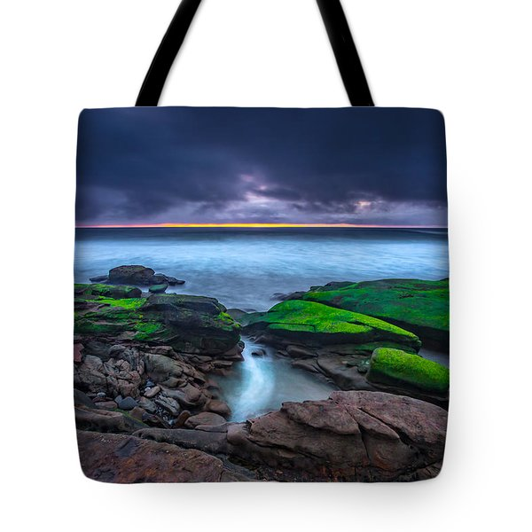 Ghost Tide Tote Bag by Peter Tellone