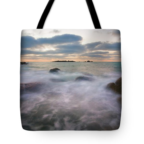 Ghost Tides Tote Bag by Mike  Dawson